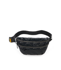 Heritage Belt Bag, Accessories, Makeup and Cosmetic Bags, LeSportsac, Black Arrow Liquid Patent