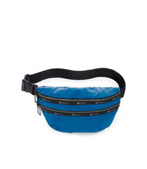 Heritage Belt Bag, Accessories, Makeup and Cosmetic Bags, LeSportsac, Blue Arrow Liquid Patent