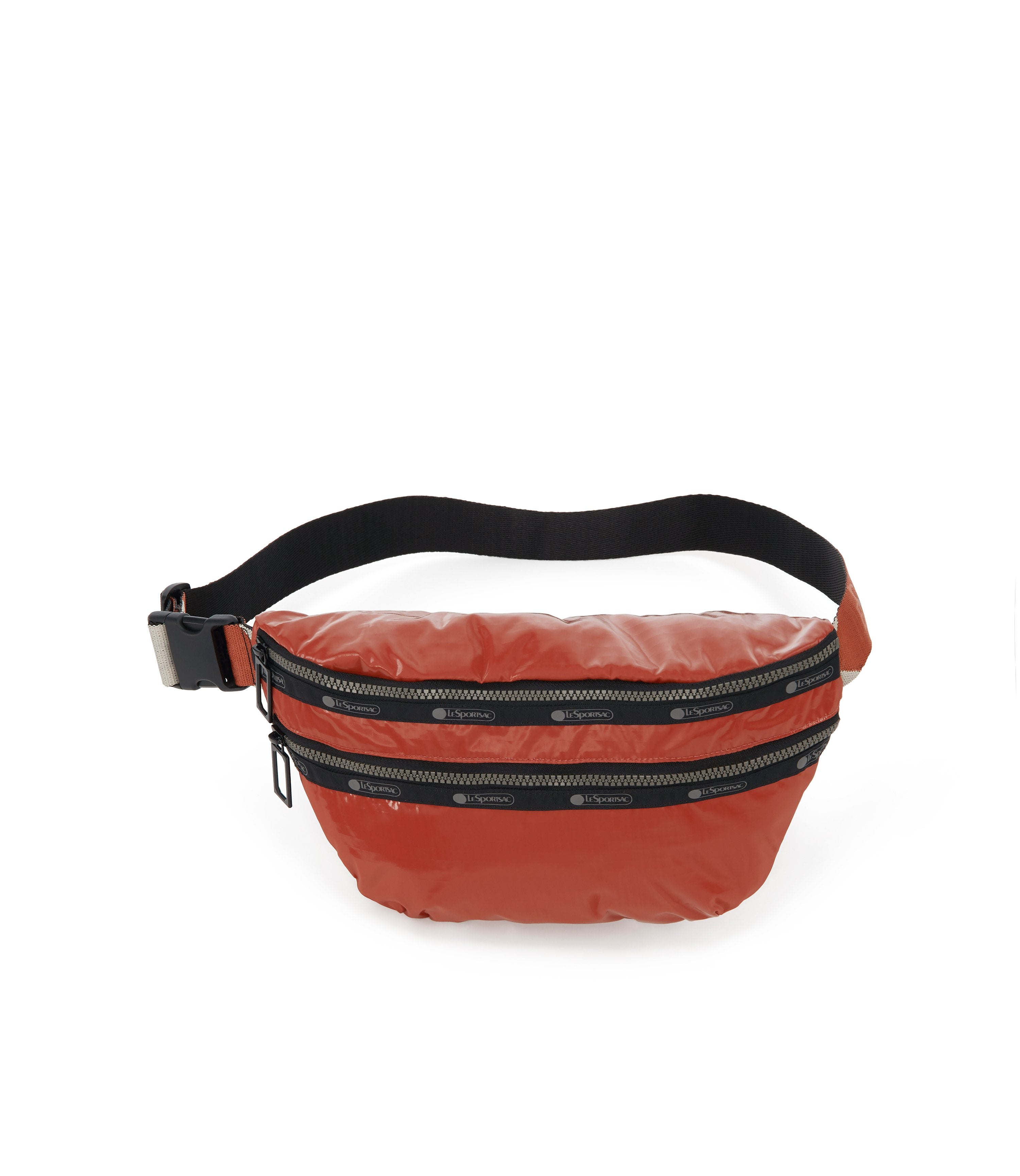 Heritage Belt Bag, Accessories, Makeup and Cosmetic Bags, LeSportsac, Cinnabar Arrow Liquid Patent