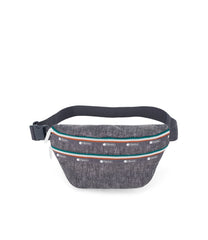 Heritage Belt Bag, Accessories, Makeup and Cosmetic Bags, LeSportsac, Sporty Denim print