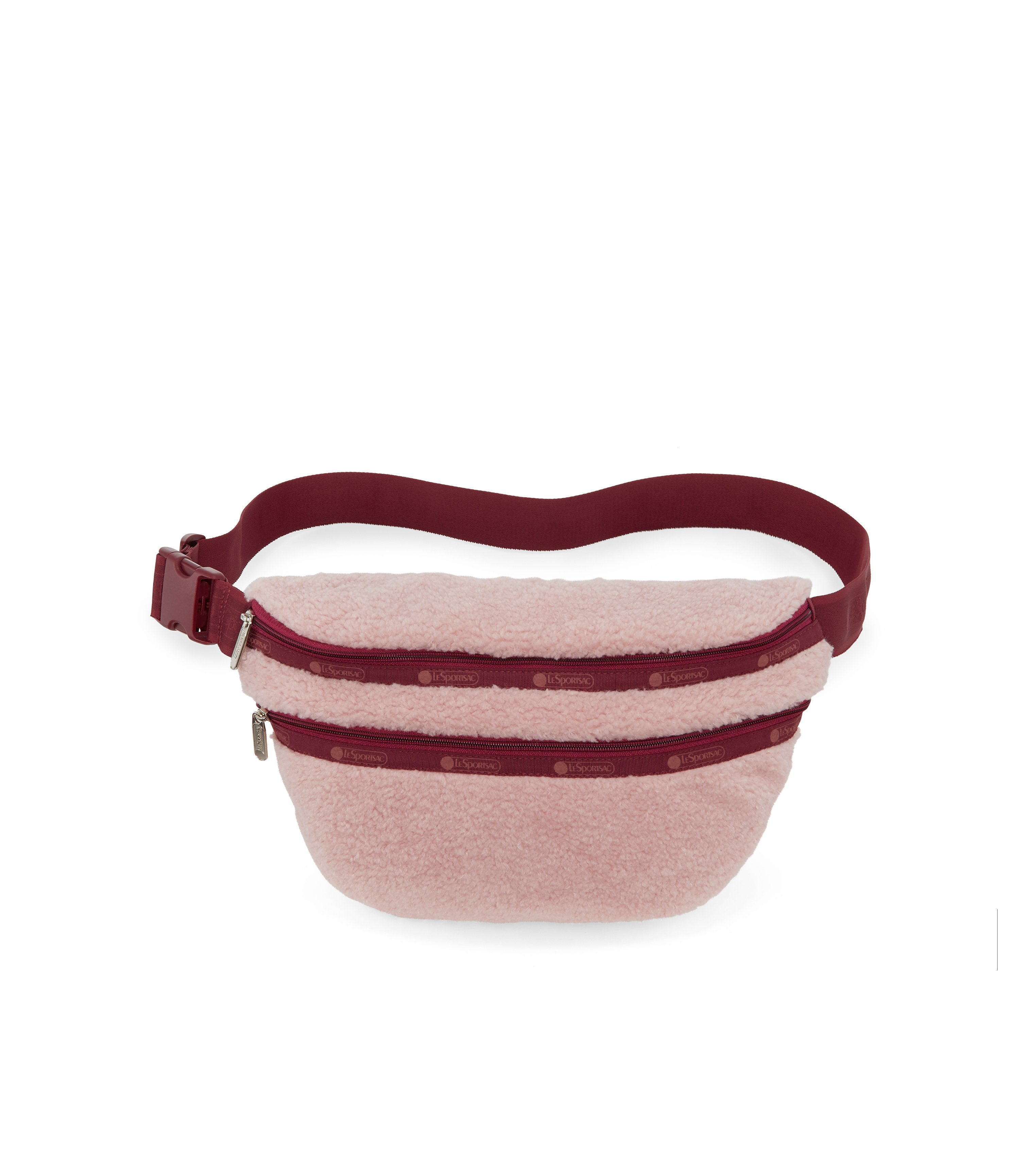 Heritage Belt Bag, Accessories, Makeup and Cosmetic Bags, LeSportsac, Pink Sherpa