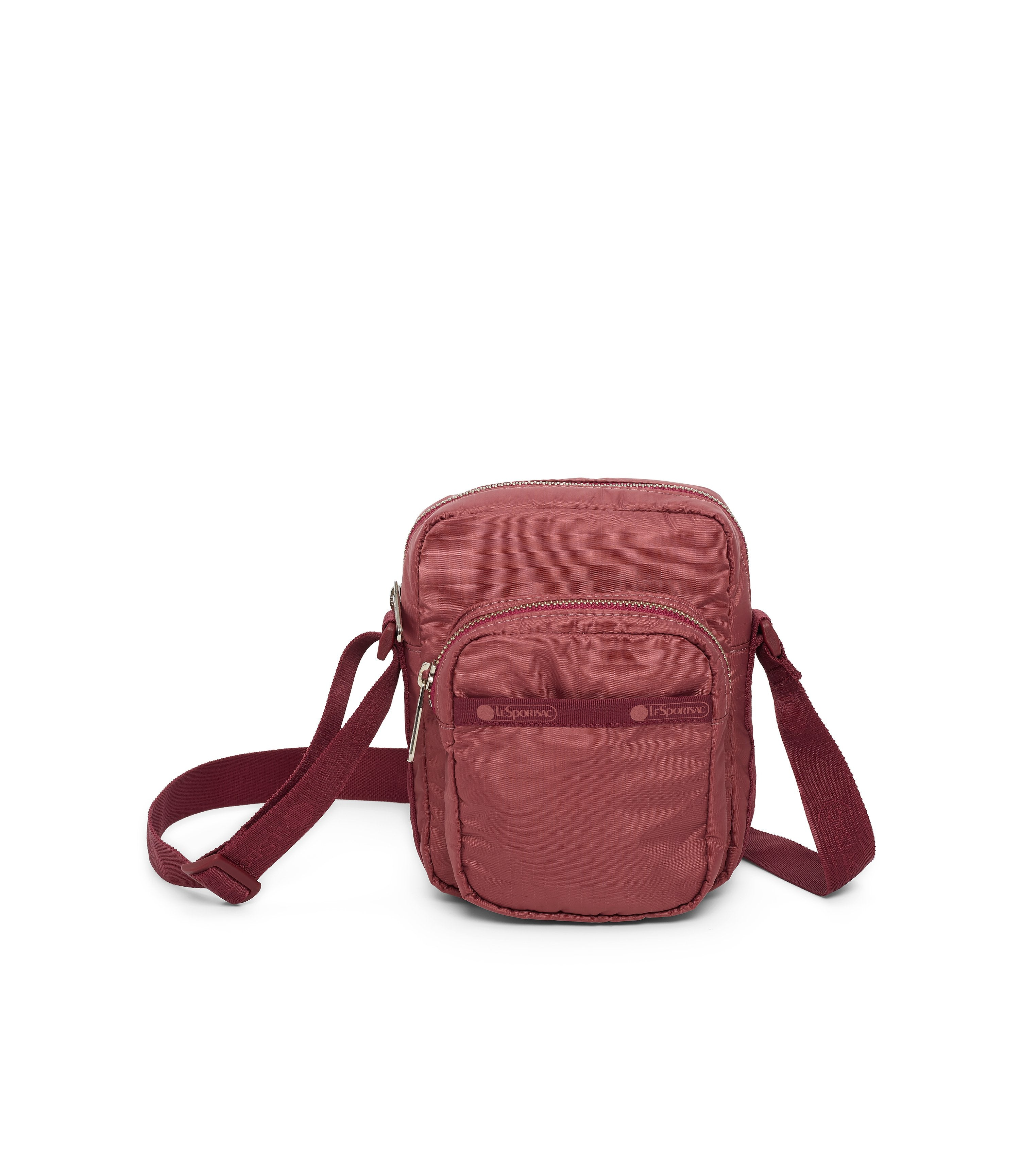 Charlie Crossbody, Handbags and Crossbody Bags, LeSportsac, Heritage Rouge