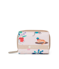 LeSportsac - Reese Wallet - Accessories - Comfy Cats print