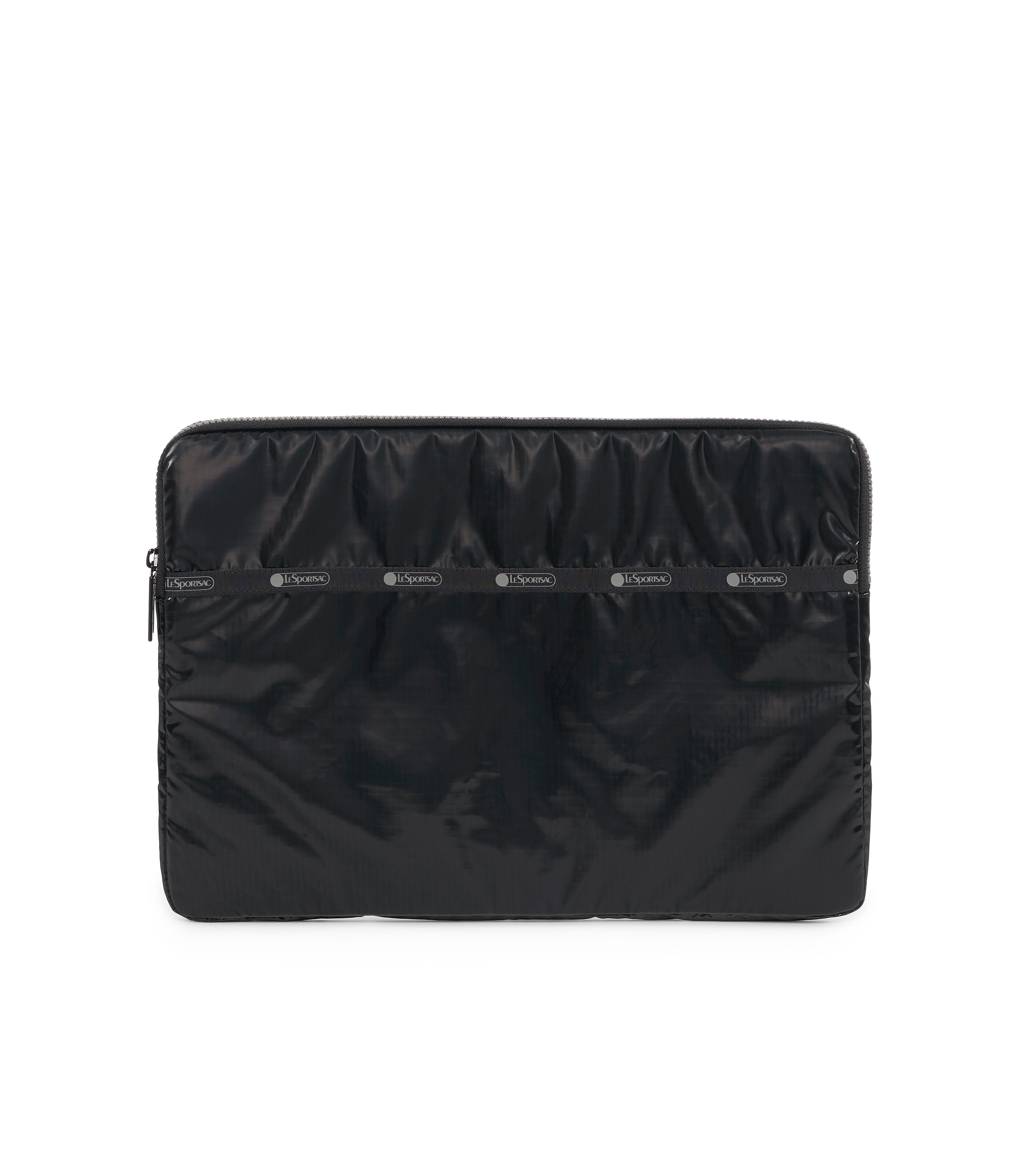 15 Inch Laptop Sleeve, Tech, Computer Sleeves, LeSportsac, Black Arrow Liquid Patent