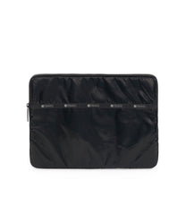 13 Inch Laptop Sleeve, Tech, Computer Sleeves, LeSportsac, Black Arrow Liquid Patent