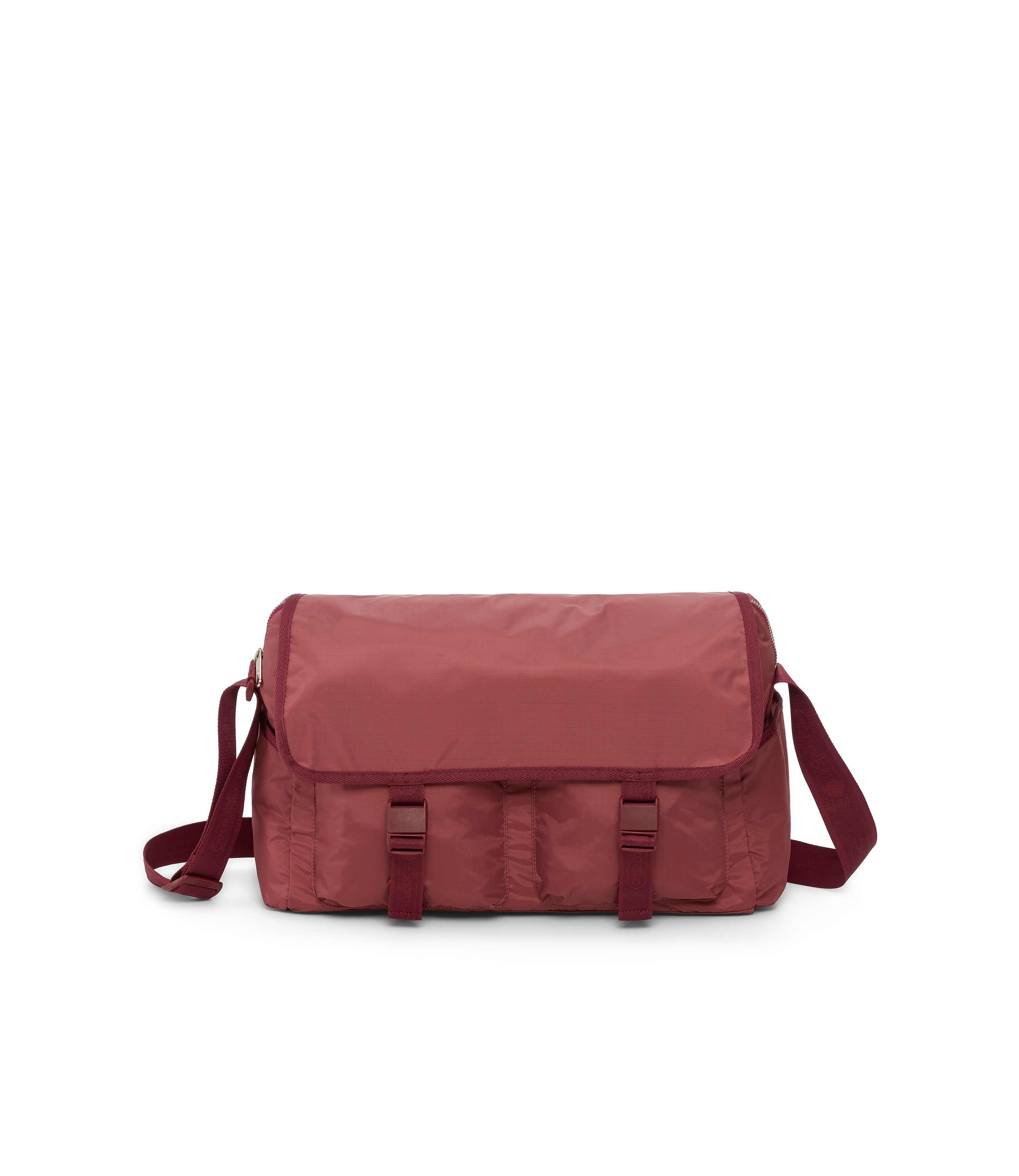 Large Brook Messenger, Large Bags and Crossbody Bags, Expandable Messenger, LeSportsac, Heritage Rouge