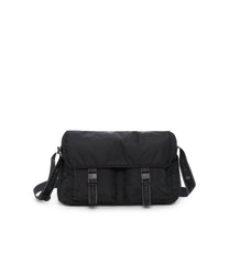 Large Brook Messenger, Large Bags and Crossbody Bags, Expandable Messenger, LeSportsac, Heritage Noir