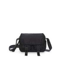 Small Brook Messenger Bags, Small Bags and Crossbody Bags, LeSportsac, Heritage Noir