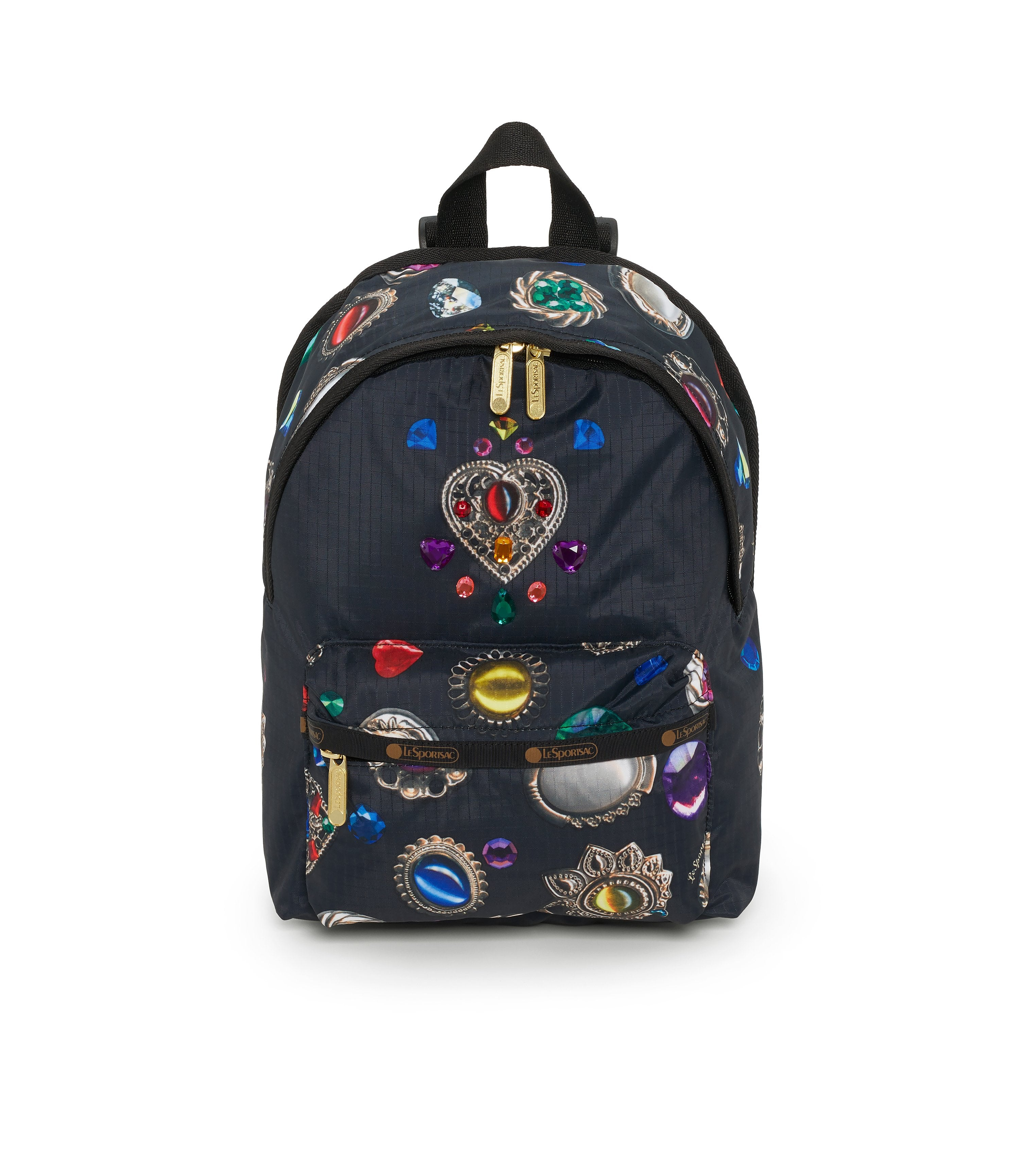 Small Hollis Backpack, Mini Backpack, LeSportsac, Faux Real, jewel print