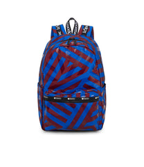 Carson Backpack, Water Resistant Womens Backpacks, LeSportsac, Aerial Twist print