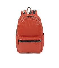 Carson Backpack, Water Resistant Womens Backpacks, LeSportsac, Cinnabar Arrow Liquid Patent