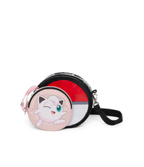 Pokemon - Leah Crossbody Set - Handbags - Jigglypuff Poke Ball - Jigglypuff-pouch