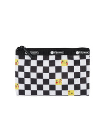 Pokemon - 2-In-1 Cosmetic - Accessories - Pikachu Check - Pouch