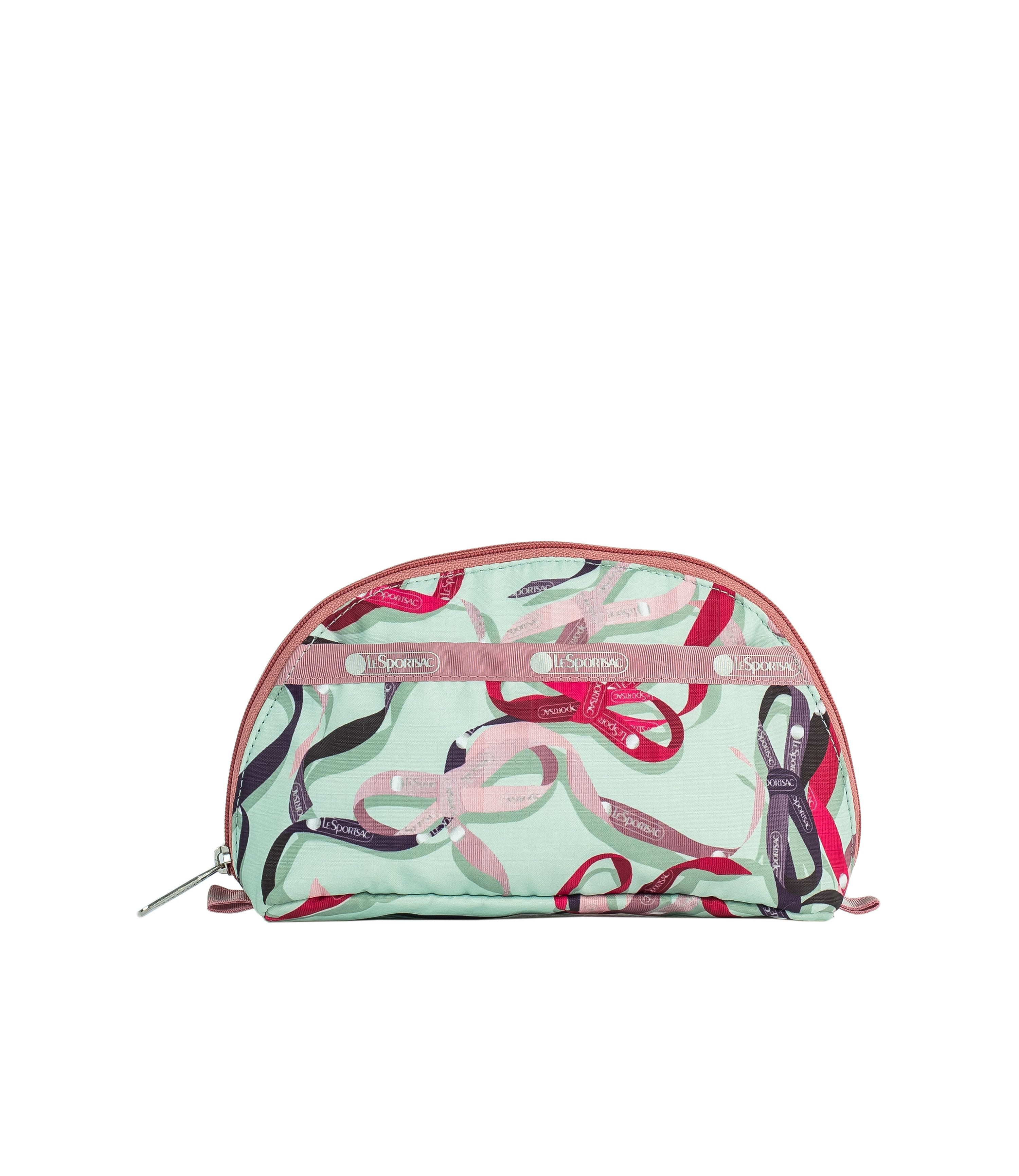LeSportsac - Accessories - Dome Cosmetic - Ribbons print