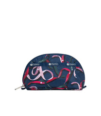 LeSportsac - Accessories - Dome Cosmetic - Ribbons Navy print