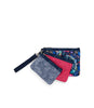 Denim Wristlet Set