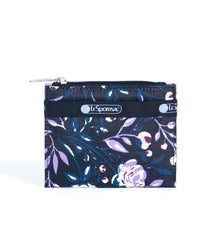 LeSportsac - Small Wallet - Accessories - Dancing Roses Noir print