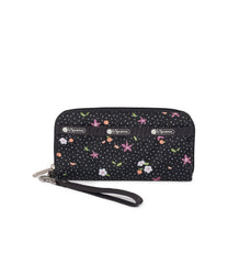 LeSportsac - Tech Wallet Wristlet - Accessories - Fruity Petals print