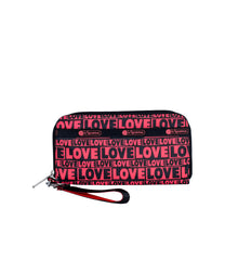LeSportsac - Accessories - Tech Wallet Wristlet - Only Love print