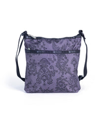 LeSportsac - On-The-Go Crossbody - Handbags - Ludlow Lace Noir print