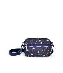 LeSportsac - Convertible Crossbody Belt Bag - Handbags - Take Off print