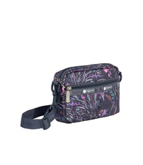 LeSportsac - Handbags - Convertible Crossbody Belt Bag - Windswept Floral Shadow print