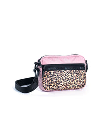 LeSportsac - Convertible Crossbody Belt Bag - Handbags - Leopard Lane Pink