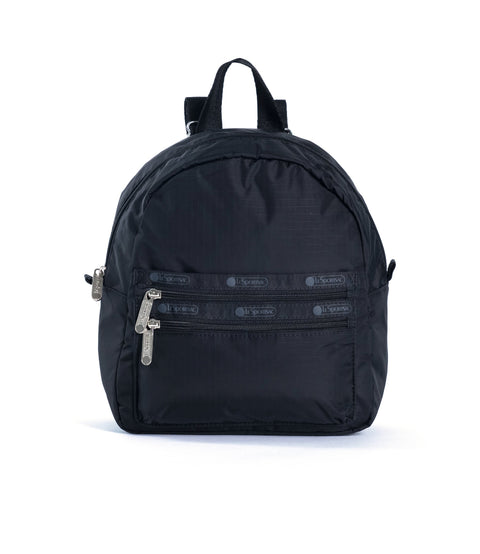 Small Double Zip Backpack alternative