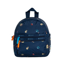 LeSportsac - Backpacks - Small Double Zip Backpack - Sesame Neighbors