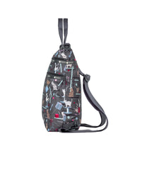 3-Zip Convertible Backpack