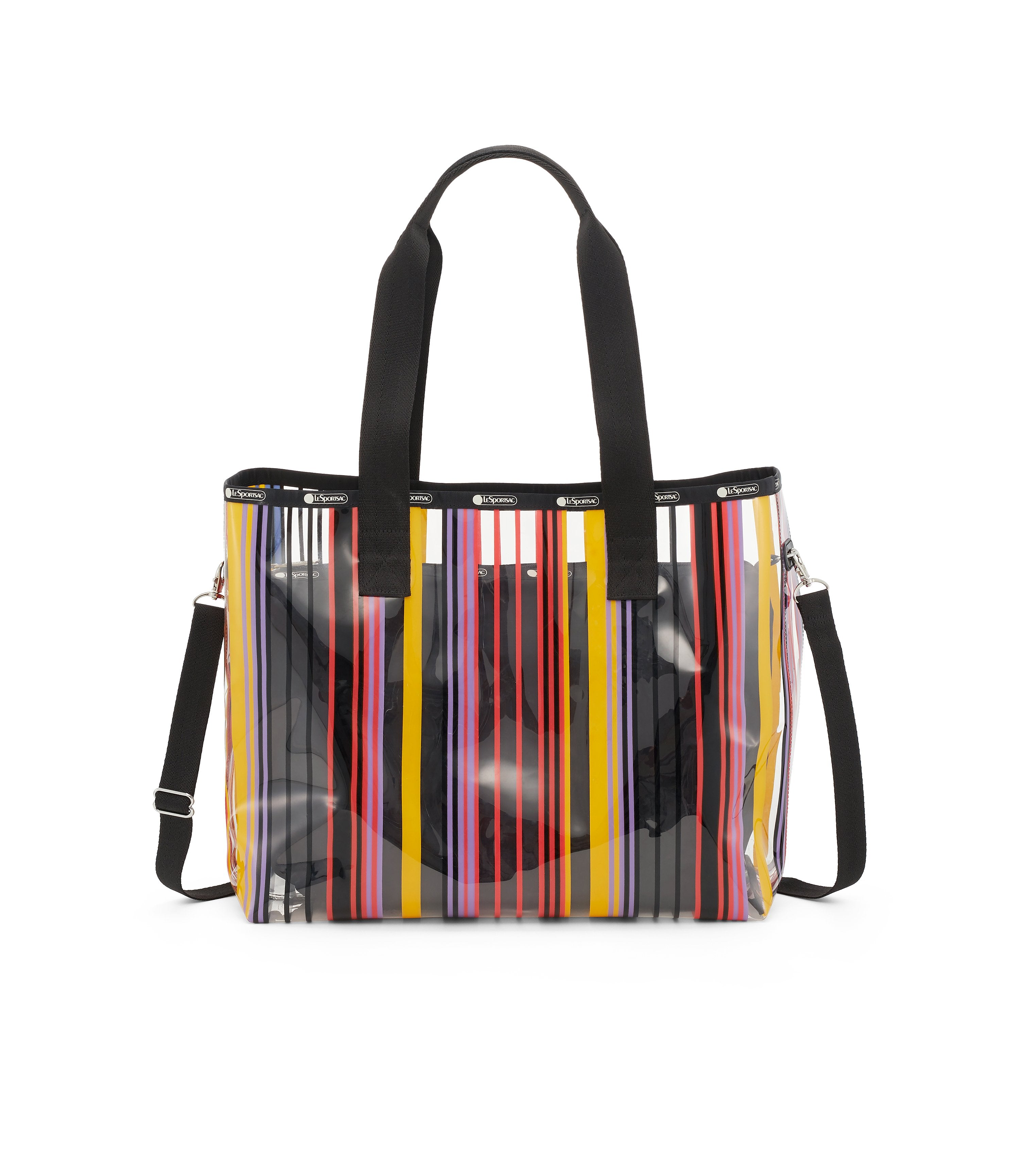 Clear 2-In-1 Tote 1