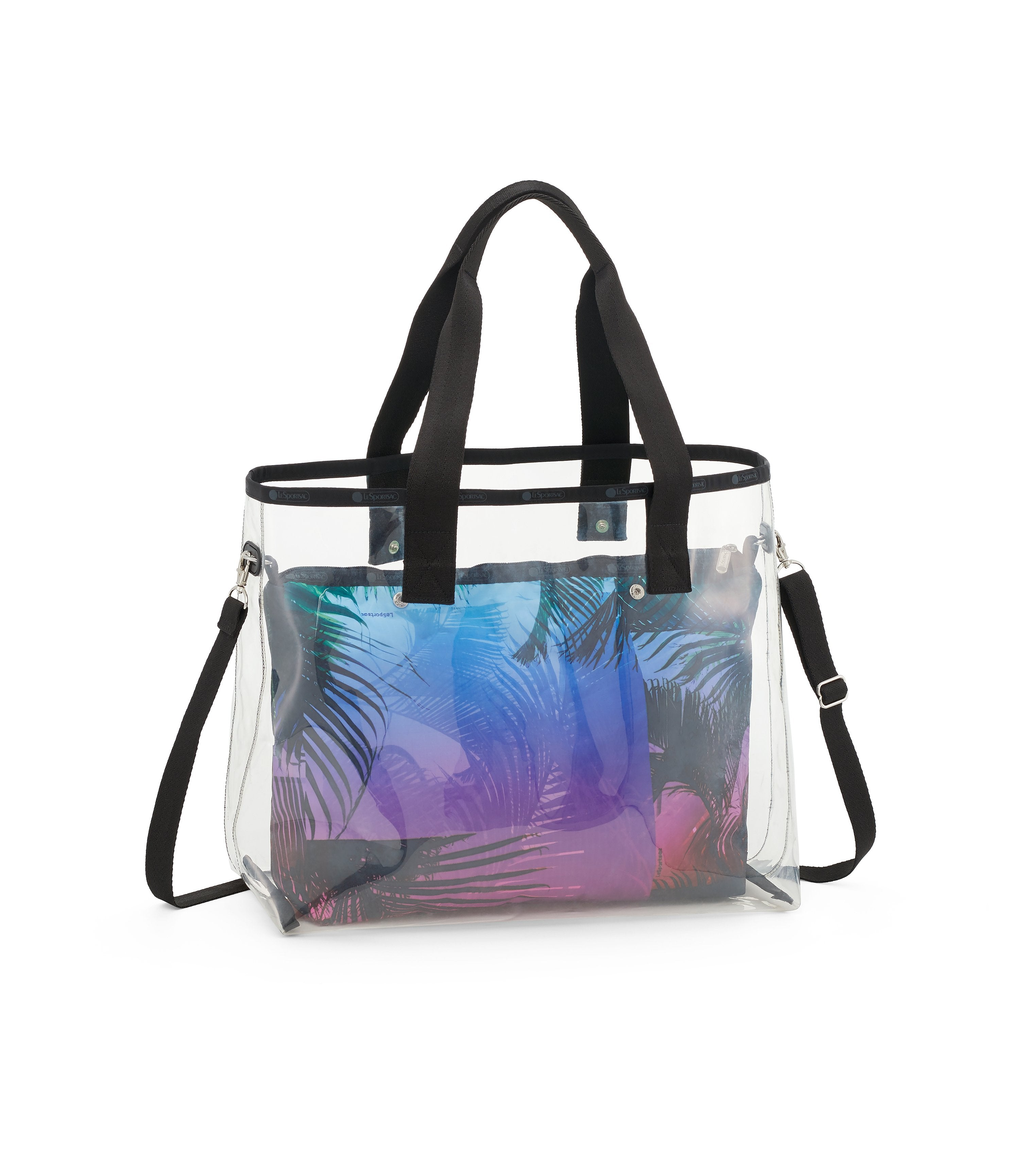 Clear 2-In-1 Tote 2