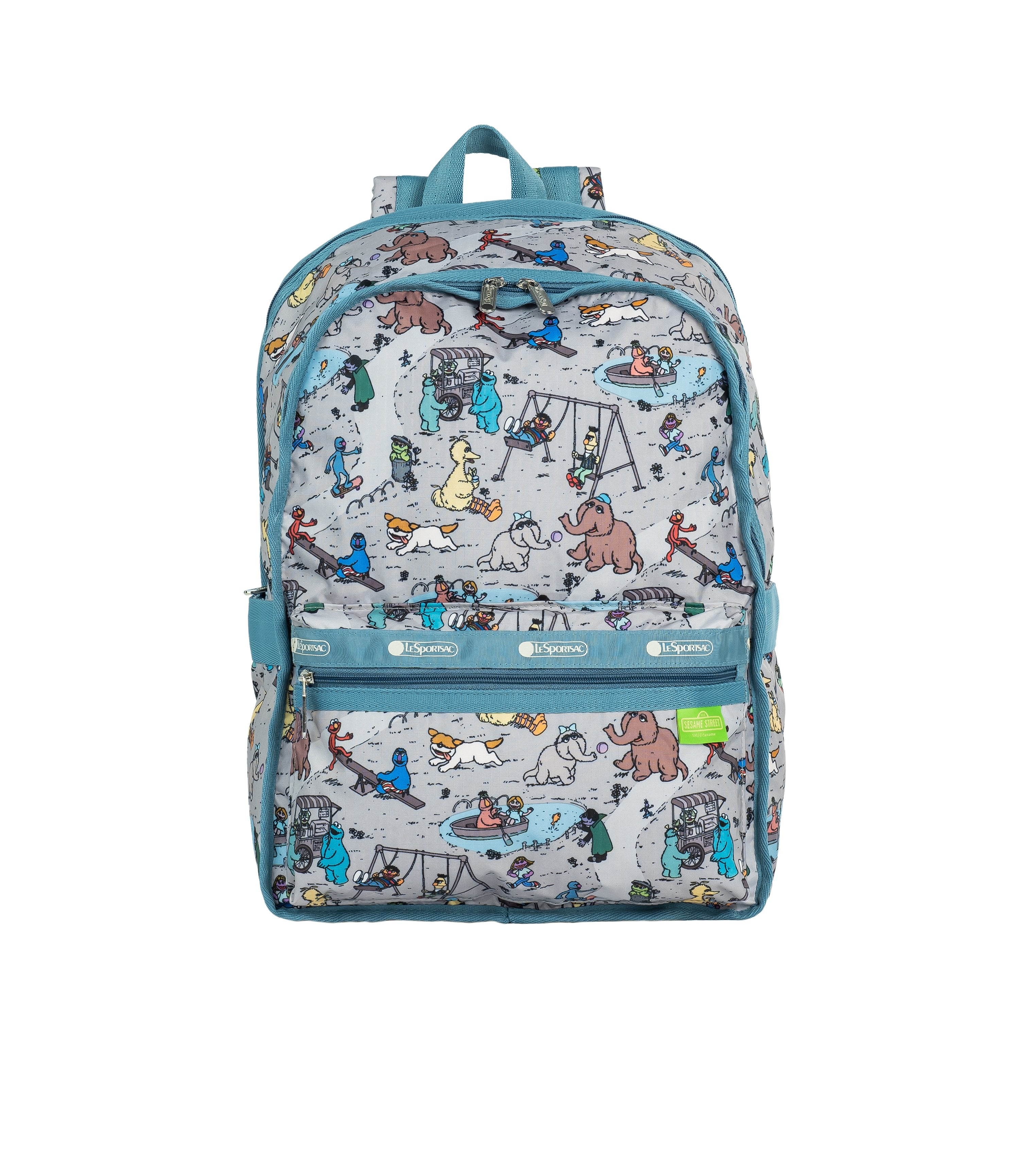 LeSportsac - Backpacks - Classic Large Backpack - Sesame Park