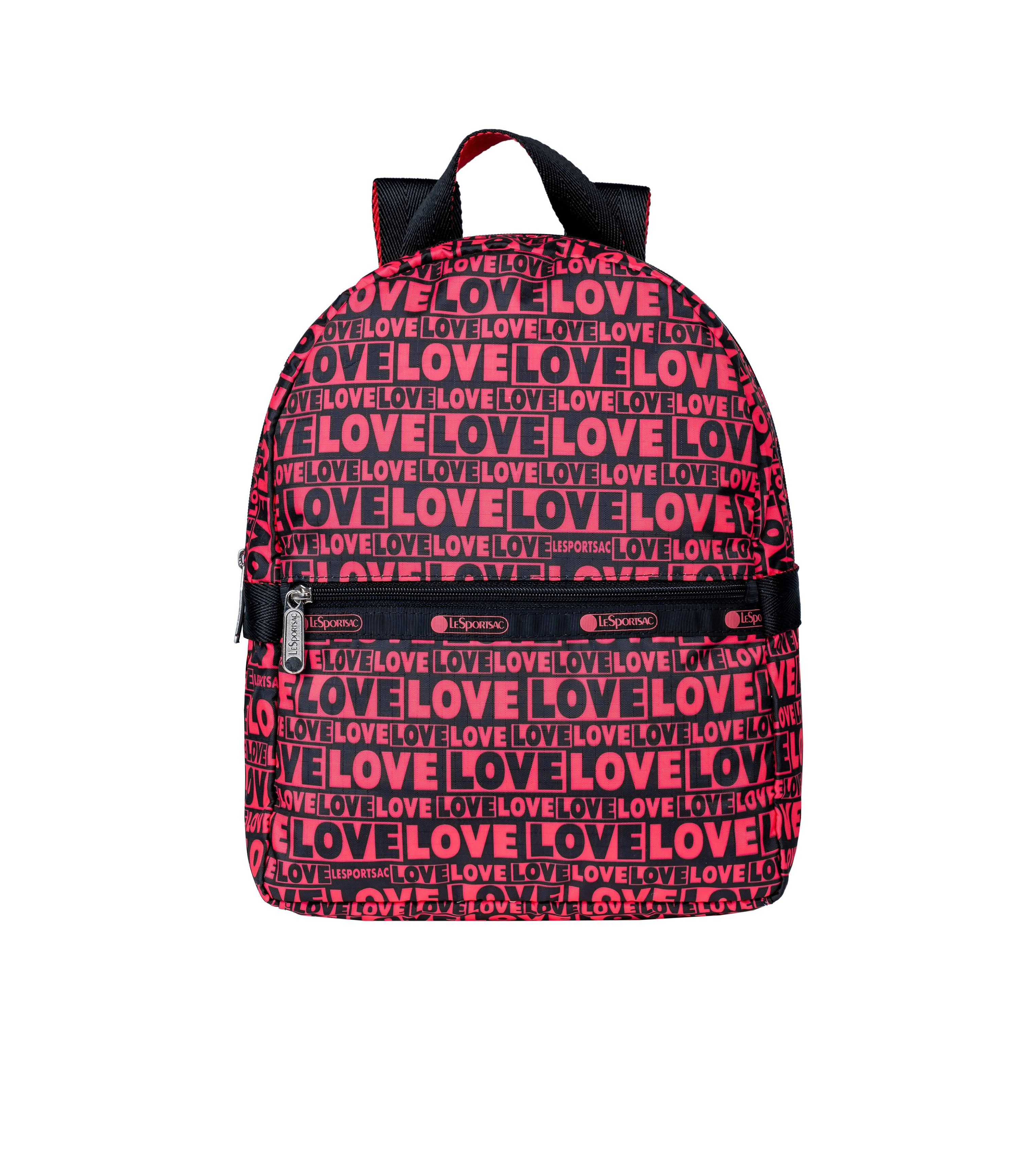 LeSportsac - Backpacks - Small Carrier Backpack - Only Love print
