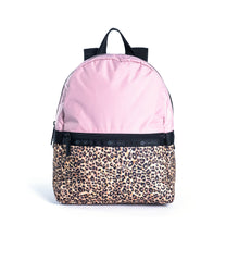 LeSportsac - Small Carrier Backpack - Backpacks - Leopard Lane Pink