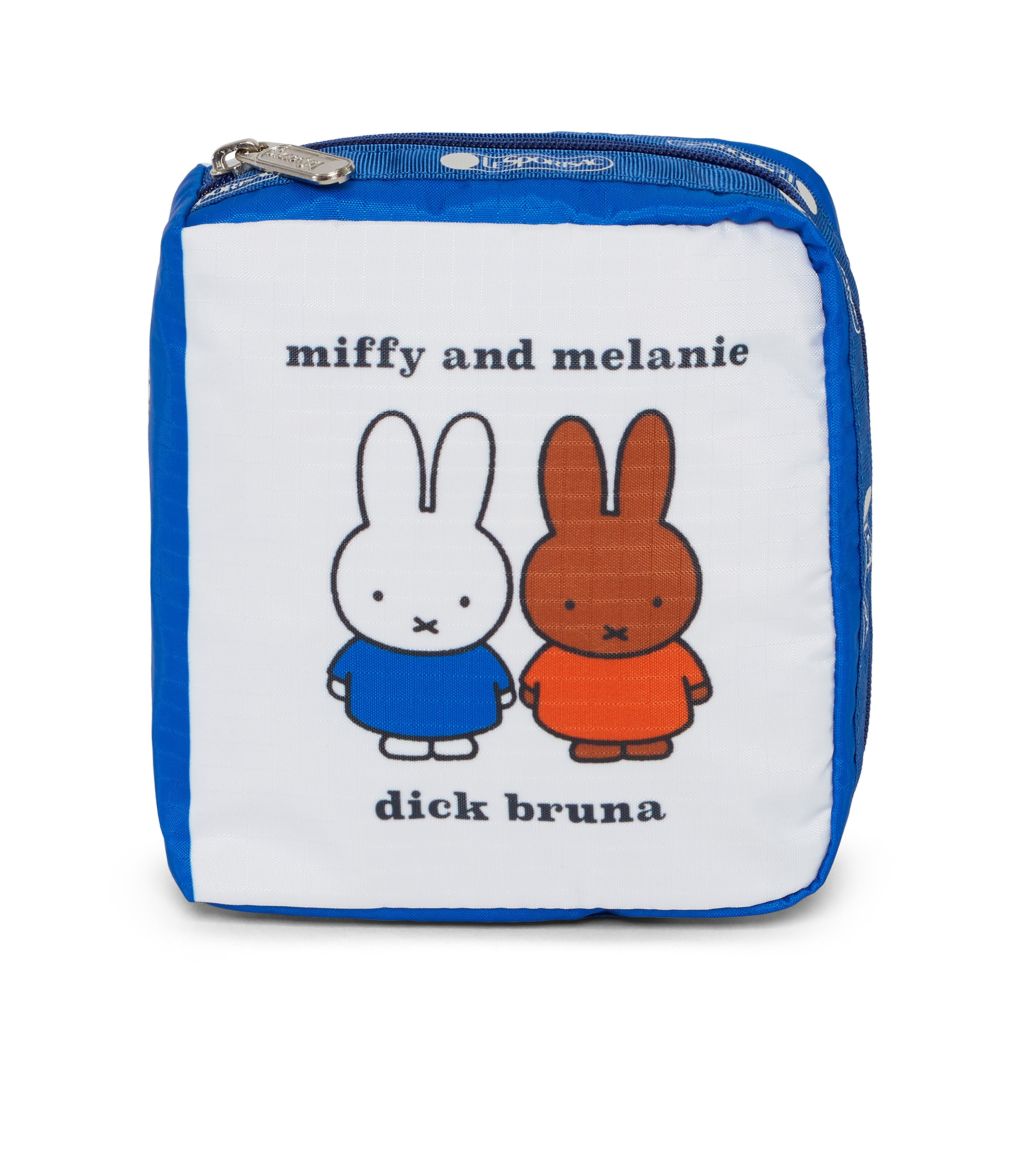 Dick Bruna - LeSportsac Book Pouch - Accessory - Miffy and Melanie -  Front View
