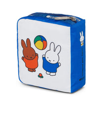 Dick Bruna - LeSportsac Book Pouch - Accessory - Miffy and Melanie -  Back Image