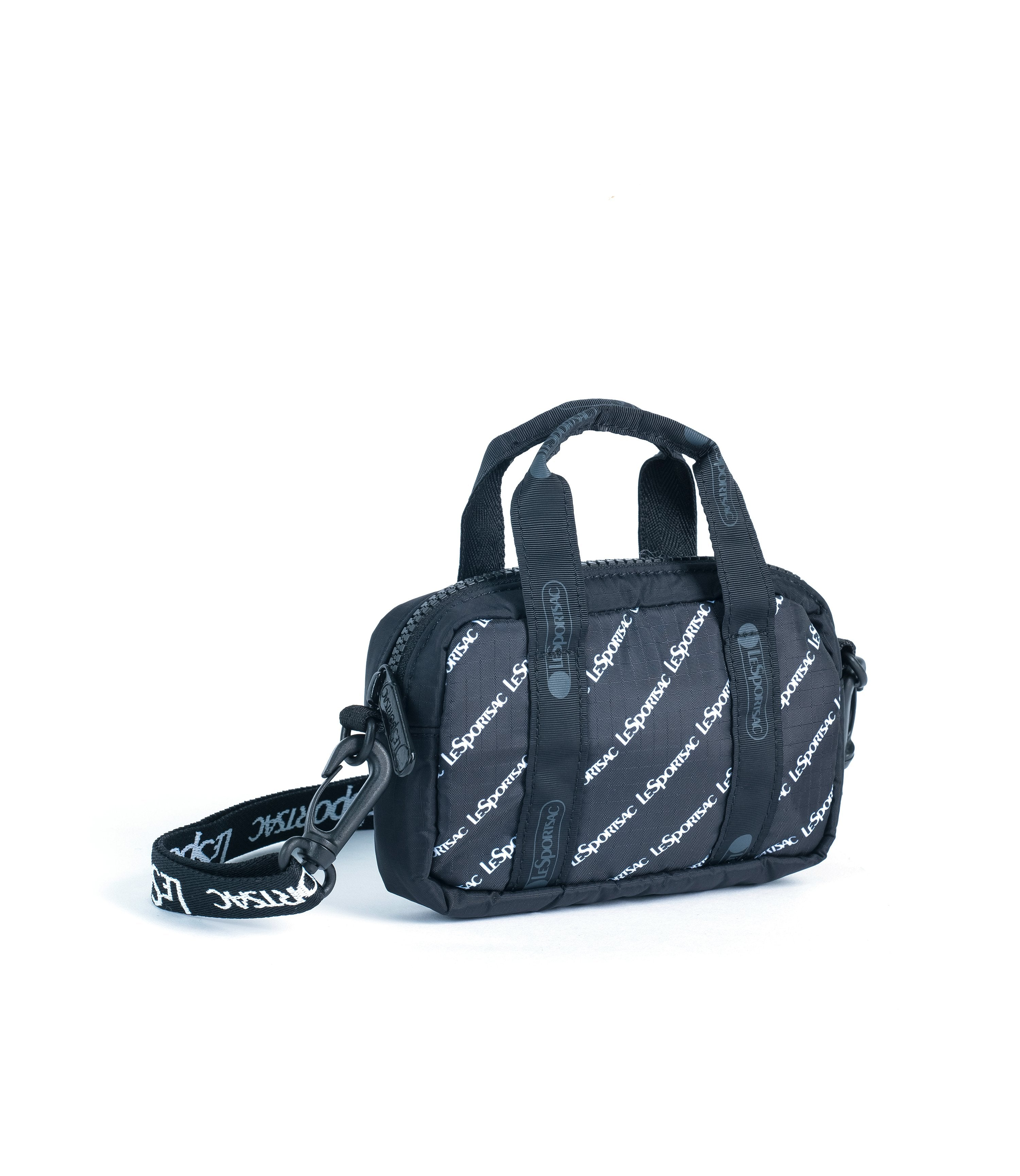 LeSportsac - Crossbody Box Belt Bag - Handbags - Downtown Diagonal print