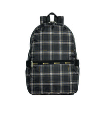 LeSportsac - Backpacks - Carrier Backpack - Sweet Plaid Noir print