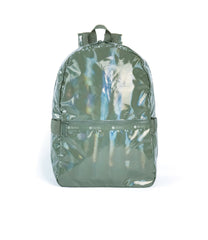 LeSportsac - Carrier Backpack - Backpacks - Shiny Willow Patent