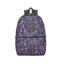 LeSportsac - Backpacks - Carrier Backpack - Windswept Floral Shadow print
