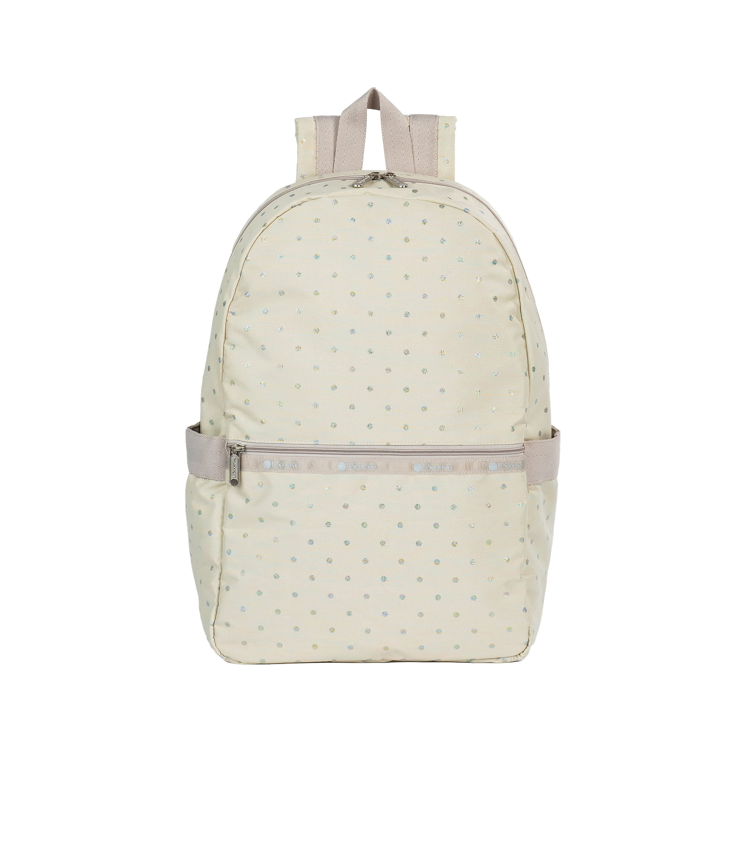 LeSportsac - Backpacks - Carrier Backpack - Rainbow Dot jacquard