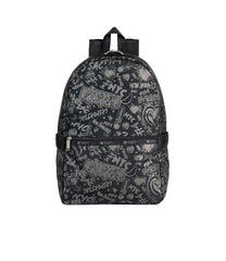 LeSportsac - Backpacks - Carrier Backpack - LeSportsac City Script print
