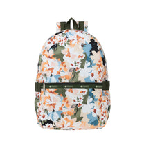 LeSportsac - Backpacks - Carrier Backpack - Painterly Blooms print