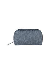 LeSportsac - Accessories - ReCycled Rectangular Cosmetic - Eco Chambray Blue