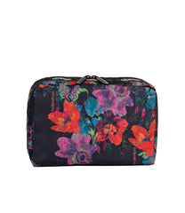 LeSportsac - Accessories - ReCycled XL Rectangular Cosmetic - Eco Camellia Garden