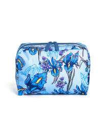 LeSportsac - Recycled XL Rectangular Cosmetic - Accessories - Eco Iris Garden print