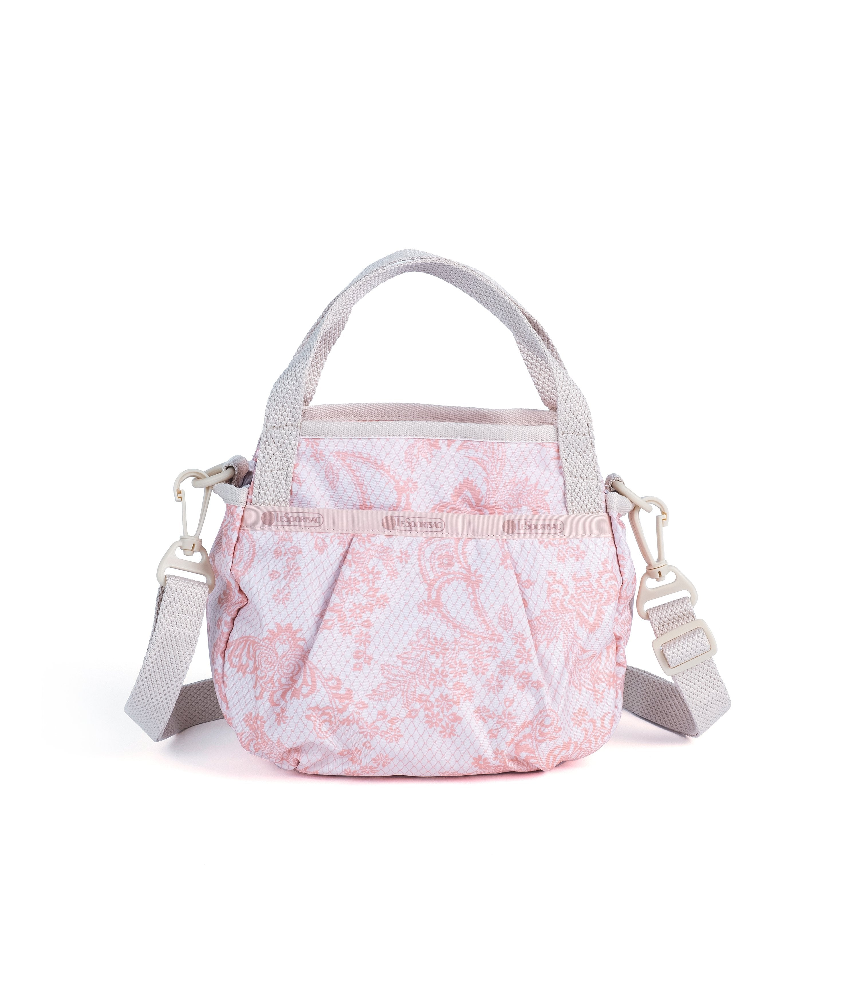 LeSportsac - Pleated Small Jenni Crossbody - Handbags - Ludlow Lace print