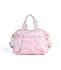 LeSportsac - Pleated Dome Satchel - Handbags - Ludlow Lace print