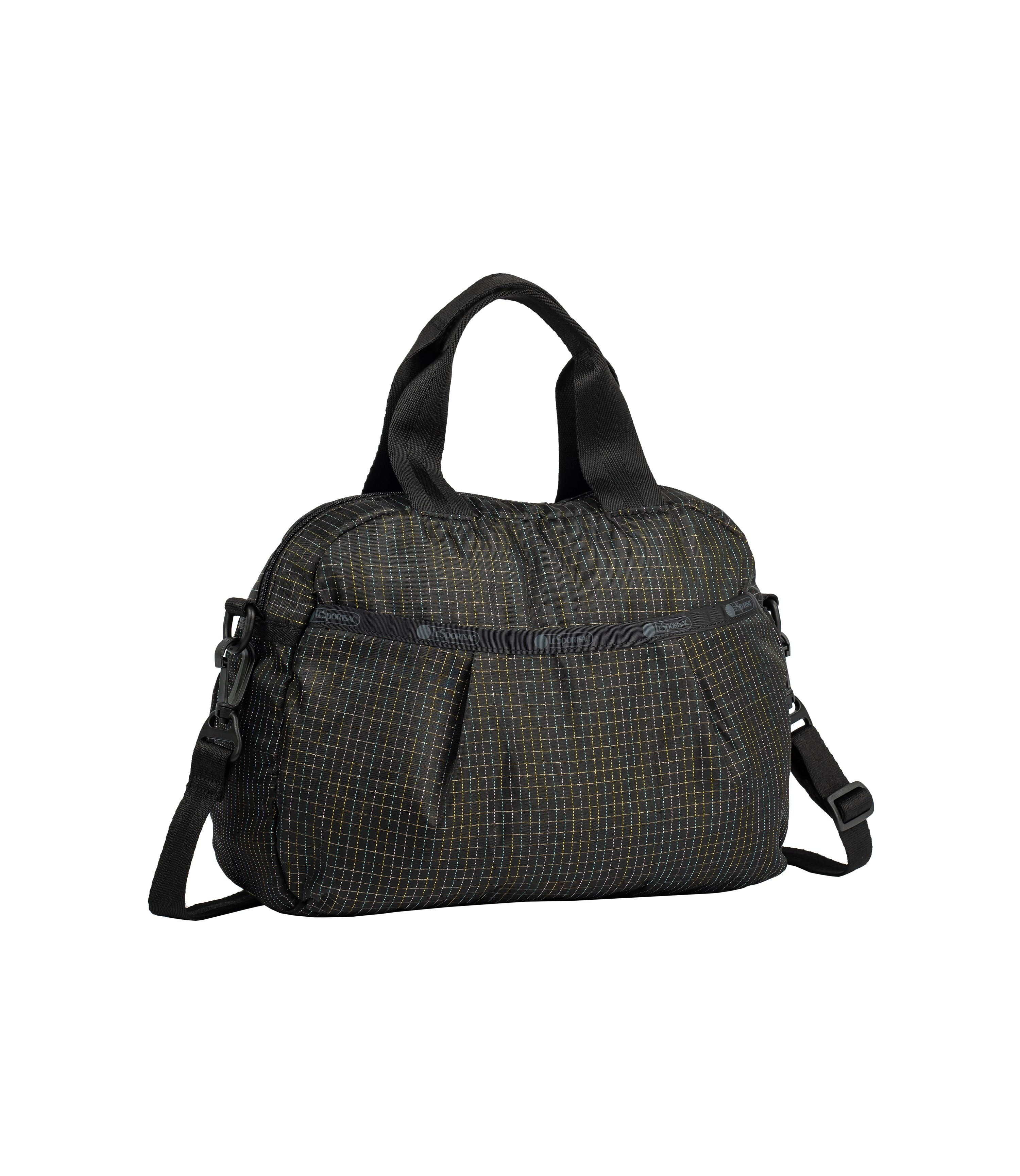 Pleated Dome Satchel